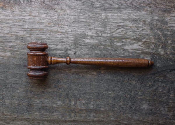 Bail Bond Conditions - Wooden Gavel